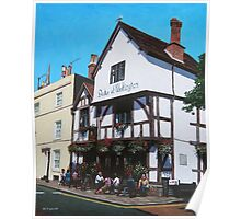 Duke of Wellington Tudor pub Southampton Poster