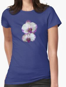White Phalaenopsis Orchids With Purple Edges T-Shirt
