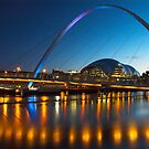 Millenium Bridge Gateshead by MartinWilliams