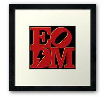 EoDM LOVE - Variant Framed Print