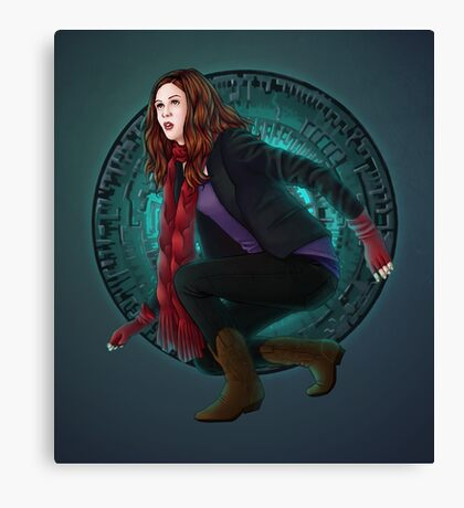Amy and the Pandorica (Doctor Who) Canvas Print