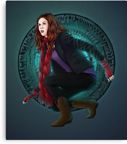 Amy and the Pandorica (Doctor Who) by eclecticmuse