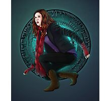 Amy and the Pandorica (Doctor Who) Photographic Print