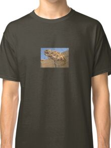 Chameleon In Shades of Brown on Fence Classic T-Shirt