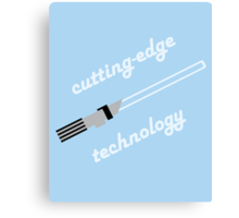 Cutting-Edge Technology Canvas Print