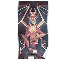 Luminescent Dragon Poster