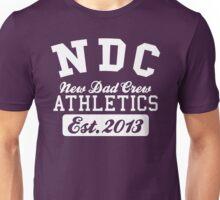 New Dad Crew ATHLETICS Est. 2013 White Unisex T-Shirt