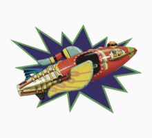 Buck Rogers Ship by sashakeen