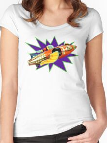 Buck Rogers Ship Women's Fitted Scoop T-Shirt