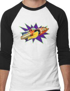 Buck Rogers Ship Men's Baseball ¾ T-Shirt