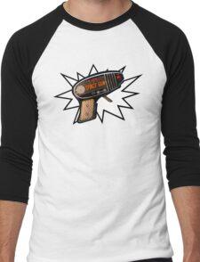 Atomic Space Gun Men's Baseball ¾ T-Shirt