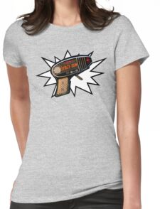 Atomic Space Gun Womens Fitted T-Shirt