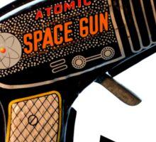 Atomic Space Gun Sticker