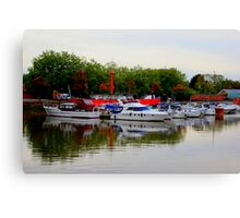 Bristol Harbor Canvas Print