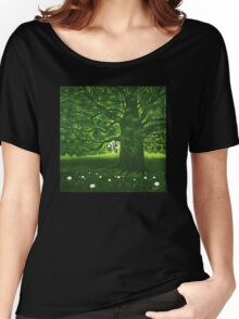 Greenman - acrylic painting Women's Relaxed Fit T-Shirt