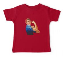 Rosie the Riveter Baby Tee