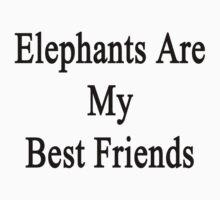 Elephants Are My Best Friends  by supernova23