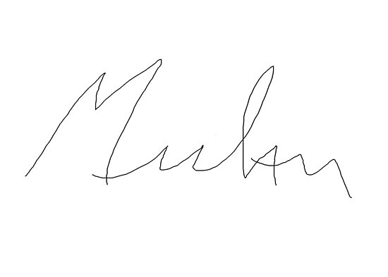 Mulan Autograph by schermer