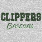 CLIPPERS Warm Up Hoodies by BlackBeard Apparel / Custom Designs
