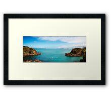 Buzios/RJ - Ferradurinha Beach Framed Print