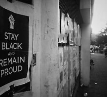 """Stay Black"" - Harlem, N.Y.C by Noemad"