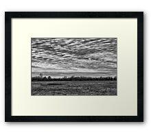 Weather System Framed Print