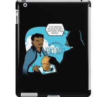 I'm Altering the Meal. iPad Case/Skin