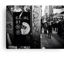 Canal Street, N.Y.C Canvas Print