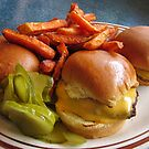 Burgers Pickles And Fries Oh My by Guy Ricketts