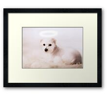 What an angel Framed Print