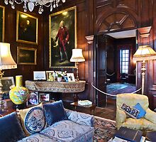Interior of Antony House, Cornwall by magicaltrails