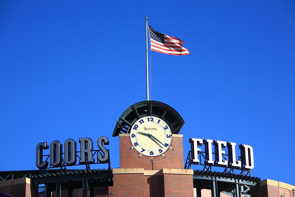 Coors Field - Colorado Rockies by Frank Romeo