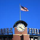 Coors Field - Colorado Rockies by Frank Romeo