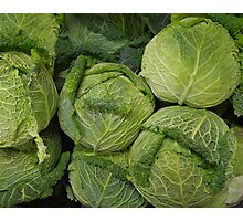 Cabbages Photographic Print