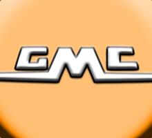 Vintage GMC Logo Design Sticker