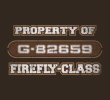 Property of Firefly-Class V1 by justinglen75