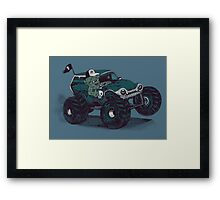 Monster Truckin' Framed Print