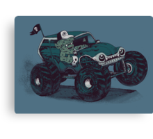 Monster Truckin' Canvas Print