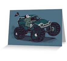 Monster Truckin' Greeting Card