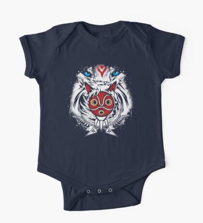 Forest Spirit Protector One Piece - Short Sleeve