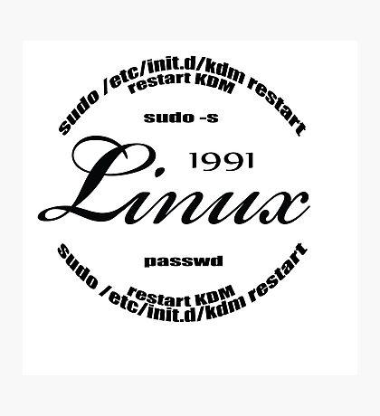 Linux Sudo  Photographic Print