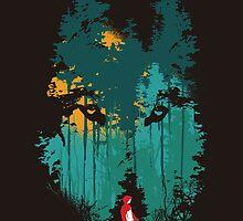 The woods belongs to me by Budi Kwan