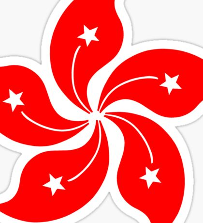 Flower of Hong Kong Sticker