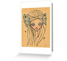 Butterfly Queen Greeting Card