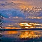 Lake Tahoe April Sunrise by Scott Johnson