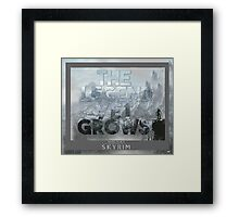 The Legend Yet Grows Framed Print