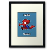 Spider-man Kitty Framed Print