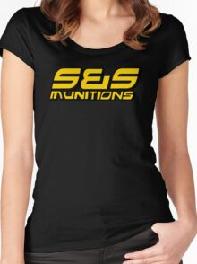 S&S Munitions Merchandise Women's Fitted Scoop T-Shirt