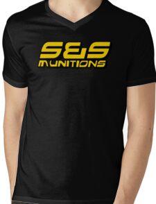 S&S Munitions Merchandise Mens V-Neck T-Shirt
