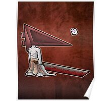 Pyramid Head Kitty Poster